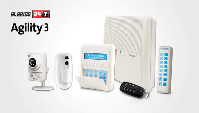 Wireless Agility3 Alarm systems